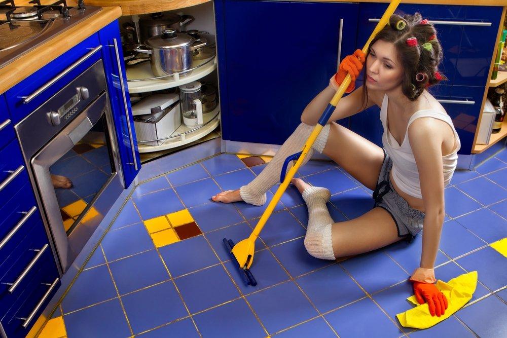 Картинка связанная с уборкой