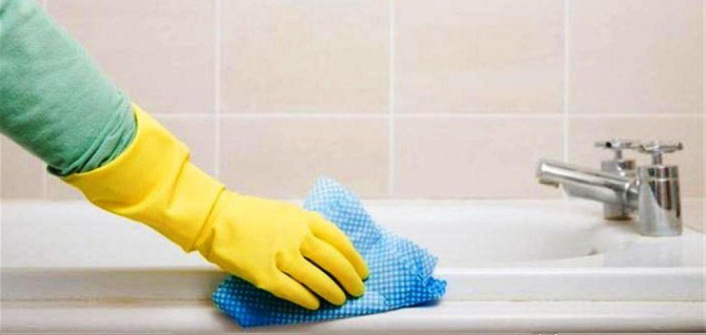Уборка ванной комнаты