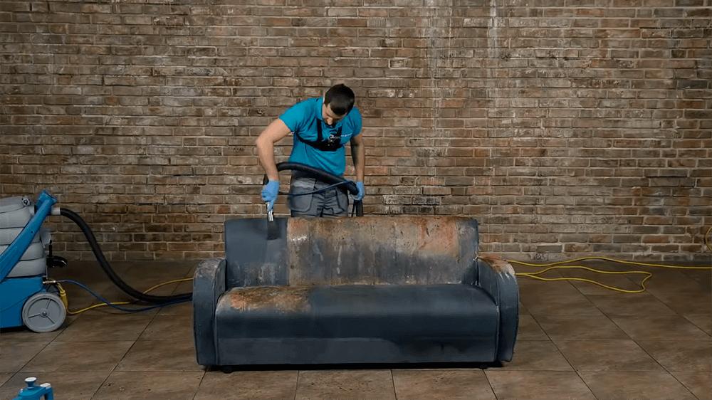 Химчистка мебели после пожара