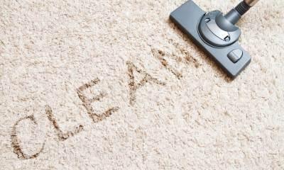 Избавляемся от пятен на ковре