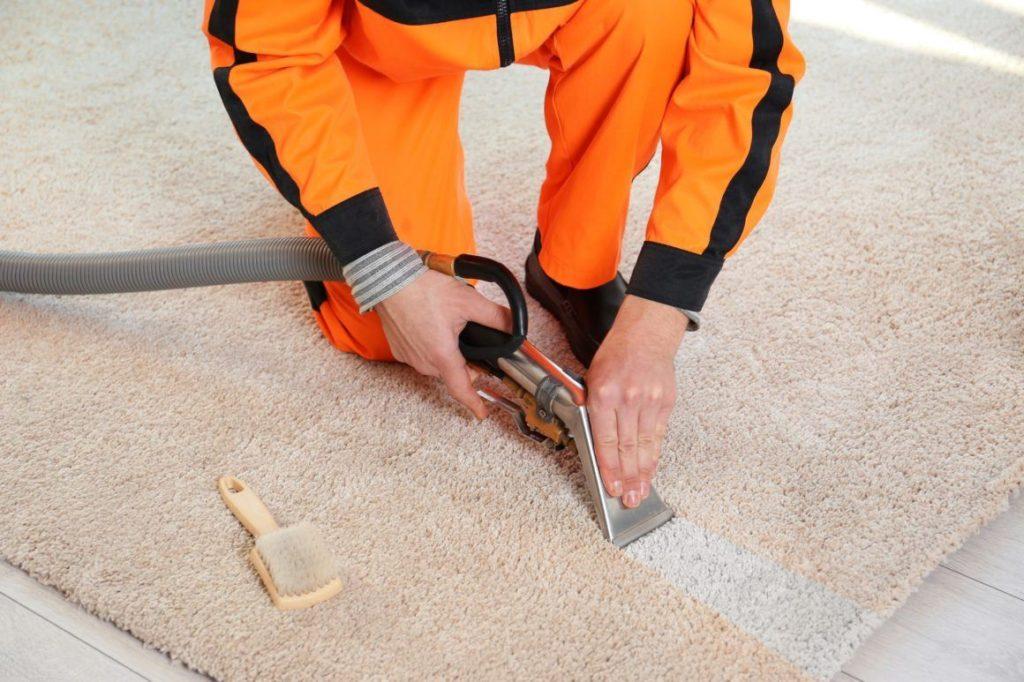 Профессиональная чистка ковров на дому